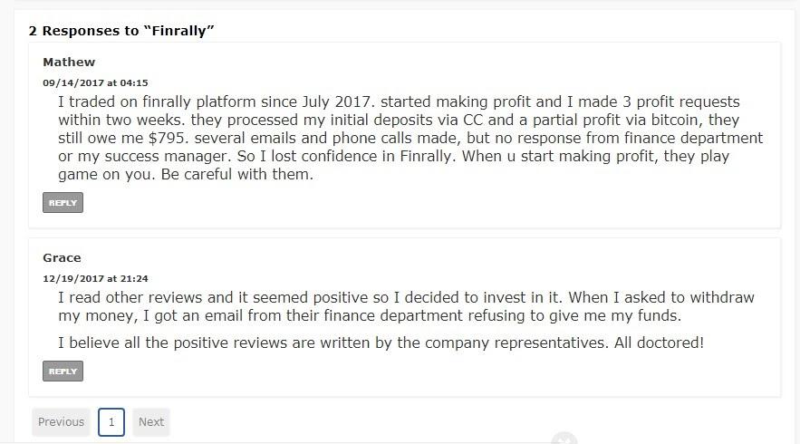 Детальный обзор деятельности Finrally и честные отзывы о компании