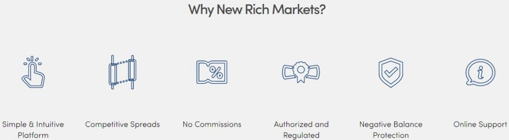 New Rich Markets: обзор псевдоброкера и отзывы трейдеров о нем